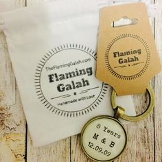Have a special message you want to gift to someone?  We do customised pendants and key rings too just like this anniversary gift winging it way to Sarah\'s husband  ...... #anniversarygift #personalisedgift #customgift #bespokegifts #handmadejewelry #personalisedkeyring #personalisedpendant #myownmessage #theflaming_galah #handcrafted #personalisedquotes #customquotes #etsyau #etsyjewelry #etsyauseller #etsyshop #iloveetsy #etsyfinds