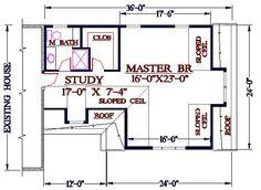 Third Floor Master Bedroom And. Bedroom Addition PlansMaster ...
