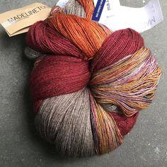 "536 Likes, 4 Comments - • Yarnologist • (@yarnologist) on Instagram: ""Beautiful yarn combination captured by @yarnoverberlin (@malabrigoyarn Dried Orange with…"""
