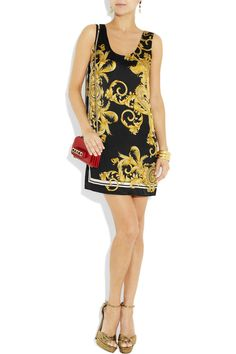 adore this Versace printed dress