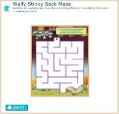 http://www.nickjr.com/printables/wallykazam-bobgoblin-maze.jhtml