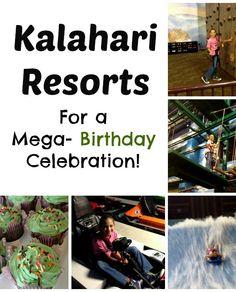 Kalahari Resort in Wisconsin Dells | Tween Birthday Party Fun | #birthdaypartyideas #waterpark #partyideas