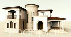 Mediteranean house project . 310 square meters.