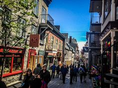 If you are looking for a stereotypical experience of Quebec City, you need to take time to wander around 'Vieux Quebec' or Old Quebec City! Old Quebec, Quebec City, Visitar Canada, New England Cruises, Canada Travel, Montreal, Travel Ideas, Wander, Boston