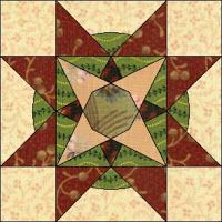 Country Rose Quilts: Block 5