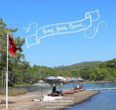 Deniz, güneş, orman... keşke bu tatil hiç bitmese...  #clubamazon #bördübet #marmaris #doğa #doğatatili #glamping
