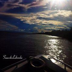 Pôr do sol no Rio Negro - AM