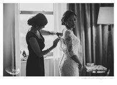 Sisterly love via Michigan Wedding Photographers, Silver Thumb Photography, silverthumbphoto.com, Colony Club, Detroit Wedding Photographer,