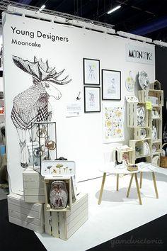 Mooncake Design at Formex Fair 2015 in Stockholm, Sweden.   qandvictoria.wordpress.com