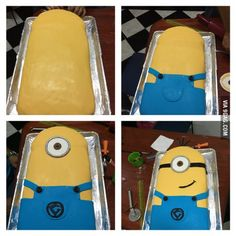 It's not so bad I guess. Just For Fun, Have Fun, 9gag Food, Plain Cake, Sugar Art, Cookie Desserts, Cakes And More, Best Funny Pictures, Minions