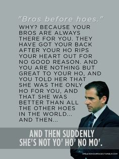 LOL this is my favorite Office quote ever!!!!