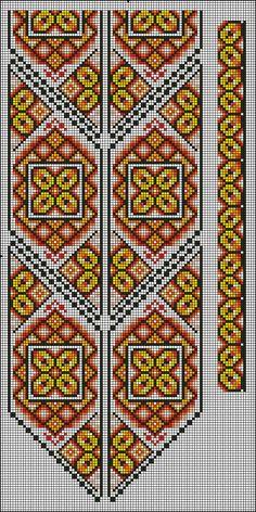 Cross Stitch Borders, Cross Stitching, Cross Stitch Embroidery, Peyote Patterns, Beading Patterns, Embroidery Patterns, Loom Weaving, Seed Beads, Knit Crochet