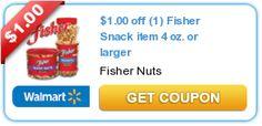 $1.00 off (1) Fisher Snack item 4 oz. or larger