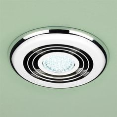Ventair airbus square with led light 250 ceiling exhaust fan silver hib cyclone cool white led illuminated inline chrome wetroom ventilation system bathroom fan lightbathroom mozeypictures