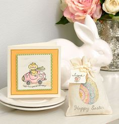 4 Easter projects to get hopping on! #Easter #papercrafting #cardmaking