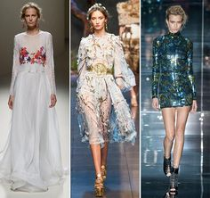 Spring/ Summer 2014 Fashion Trends: 3D Effects  #fashion #fashiontrends