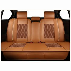 Front Grey Leather Car Seat Covers For Toyota Land Cruiser Amazon 02-06