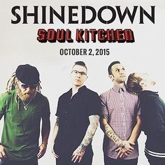 Mobile AL! Tonight @Shinedown will be performing at @SoulKitchenMob! Who's going?! http://ift.tt/1V2Gim9   Barry Kerch Brent Smith Eric Bass Shinedown Shinedown Nation Shinedowns Nation Zach Myers