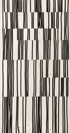Robert Kelly, Thicket Assemblage LII, (Apparently it's a painting but found under printmaking. Motifs Textiles, Textile Patterns, Bauhaus Textiles, Black And White Abstract, White Art, Black White, Graphic Patterns, Print Patterns, Graphic Design