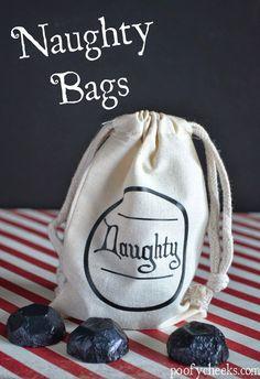 HAPPY Holidays: DIY Naughty Bags