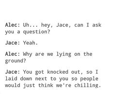 Jace is such a good parabarai and brother Divergent Funny, Divergent Quotes, Insurgent Quotes, Shadowhunters Tv Show, Shadowhunters The Mortal Instruments, David Castro, Clary And Jace, Clary Fray, Mortal Instruments Funny