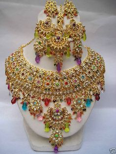 jewelry from india | Jewelry Accessories World: Indian bridal jewelry sets