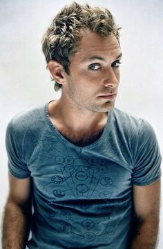 Jude Law ...would never date him, but would love to make out with him!