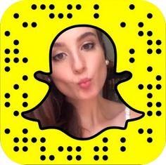 Fotografe essa imagem com o seu celular para me seguir no Snapchat.