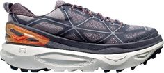 HOKA ONE ONE Women's Mafate 4 Trail-Running Shoes Pavement/Gull 9.5