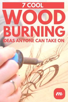 woodworking - The best part of woodburning is that, along with being relaxing, the process results in something beautiful to show for it when you're done You can do it for yourself, or to give as a completely unique, one of a kind gift for a loved one An Wood Burning Tips, Wood Burning Techniques, Wood Burning Crafts, Wood Burning Patterns, Wood Craft Patterns, Diy Wood Projects, Wood Crafts, Art Projects, Wood Burn Designs