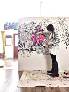 Go BIG- tips and trick for painting large | alisaburke | Bloglovin'