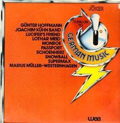 Various - Turn On To German Music GER 1978 Lp vg++