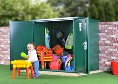 If you're a parent you'll know that you accumulate a lot of children's toys over the years and it can be a struggle to store them safely all in one place.  Asgard metal security sheds could be the answer to your problems. Especially if you have a lot of outdoor toys.  http://ift.tt/1ROFmi2 - http://ift.tt/1HQJd81