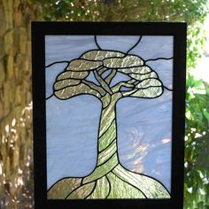 Stained Glass Panel - Tree of Life