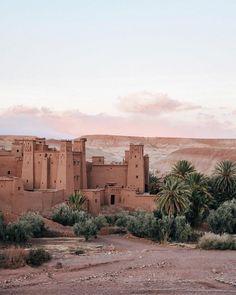 Aït Ben Haddou, Ouarzazate, Morocco - Photography by Carley Rudd
