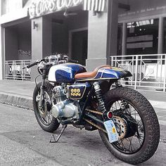 Check Customer Ryan Johnson's super fast CB350F #motorcycles #caferacer #motos | caferacerpasion.com
