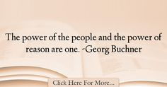 Georg Buchner Quotes About Power - 56475