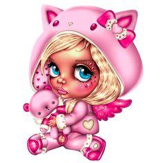 60 Best Ideas for wallpaper cute cartoon people Beautiful Dark Art, Beautiful Fairies, Cute Cartoon, Cartoon Art, Girl Cartoon, Voodoo Doll Tattoo, Image Nice, Goth Disney, Kawaii Tattoo