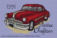 A Counted Cross Stitch Chart 1939 Ford Pickup