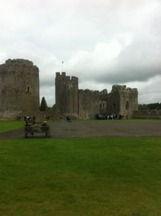 Pembroke Castle, Wales birthplace of Henry VII and stronghold of Jasper Tudor.