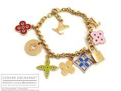 louis vuitton charm bracelet | Authentic Louis Vuitton Charm Bracelet NEW