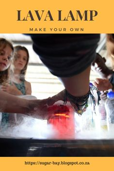 Here's a quick and simple lava lamp recipe you can do with your kids at home or school with only 5 common ingredients. How To Make Lava, Make A Lava Lamp, How To Find Out, Camping Crafts, Craft Activities, Kids House, Create Your Own, Easy, Blog