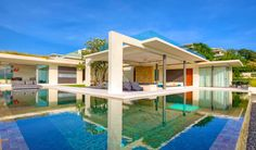 architecture Koh Samui Villa Breathtaking Natural Spectacle Offered by Modern Holiday Villa in Koh Samui