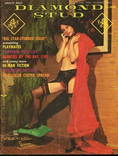 Diamond Stud vol 2 no 1 1968 vintage adult straight magazine collectible
