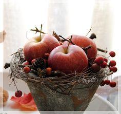 Rote Äpfel... - Wohnen und Garten Foto