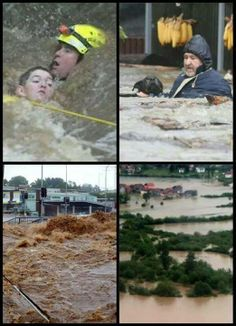 Flood in croatia, serbia and bosnia. In Croatia, two people are missing and hundreds have fled their homes as the Sava River breached flood barriers. In Serbia, more than 20,000 people have been forced from their homes.