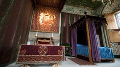 The refurbishment of the Royal Palace at Stirling Castle is almost complete after a decade of research and years of painstaking craftsmanship. Scotland Castles, Scottish Castles, Stirling Castle Scotland, Palace Interior, Mary Queen Of Scots, Royal Palace, Valance Curtains, Pictures, Refurbishment