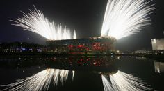 As Rio prepares to welcome the world for the 2016 Olympic Games with their opening ceremony, we look back on some memorable images from the recent past. Olympics News, Opening Ceremony, Olympic Games, Past, Rio, Waterfall, How To Memorize Things, Articles, World