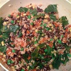Vegetable, Black Bean And Brown Rice Salad Recipe on Yummly. @yummly #recipe