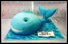 3D Whale cake by House of Cakes Dubai